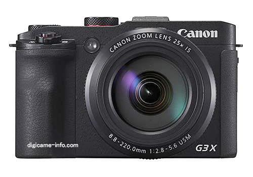 กล้อง Canon G3X